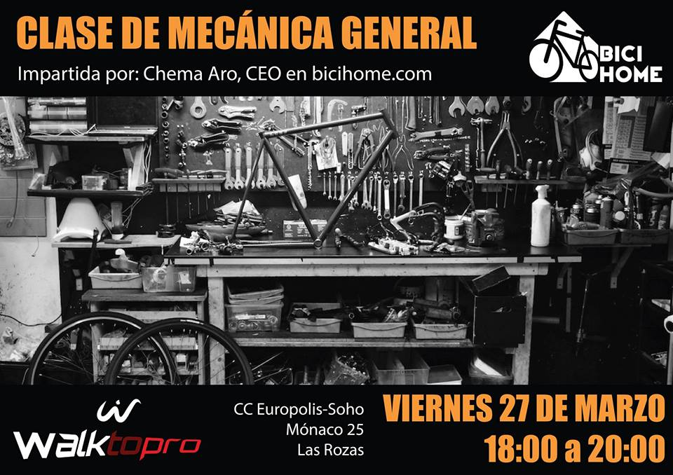 Evento sobre Mecánica de la Bicicleta